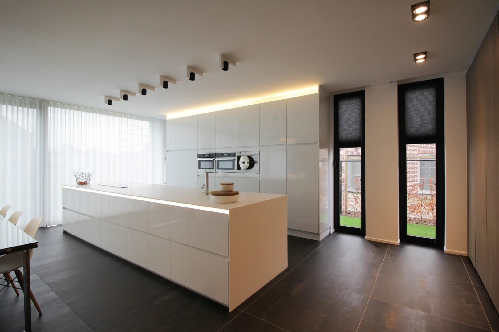interieur aanpassing van een keuken